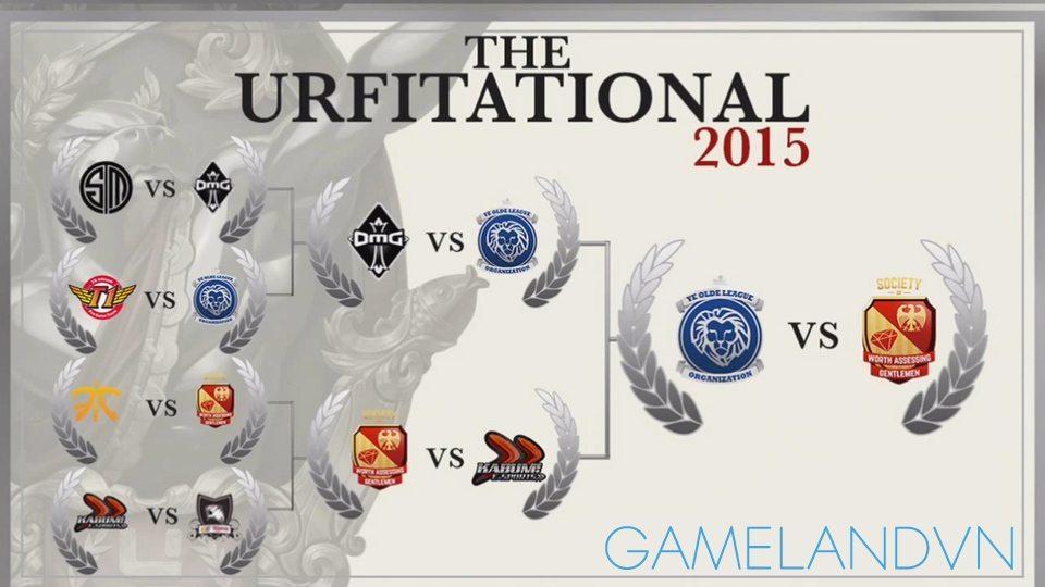Diễn biến vòng chung kết URFitational 2015.