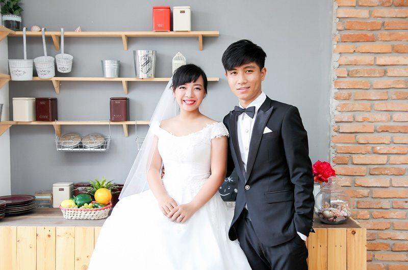 Cả hai sẽ tổ chức đám cưới vào đầu tháng Tư này.