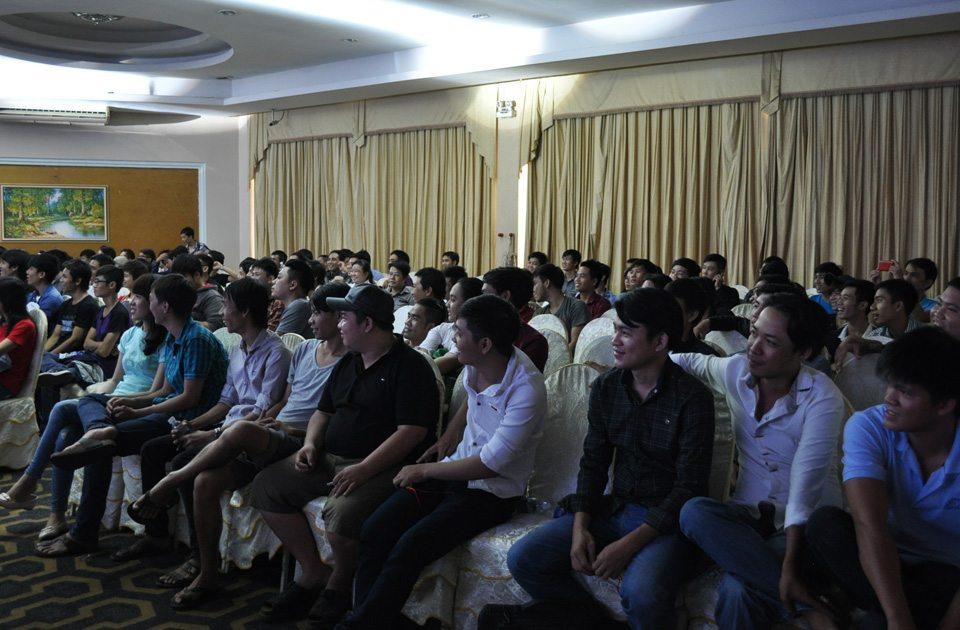 Buổi offline tại TP.Hồ Chí Minh thu hút được đông đảo người chơi tham gia