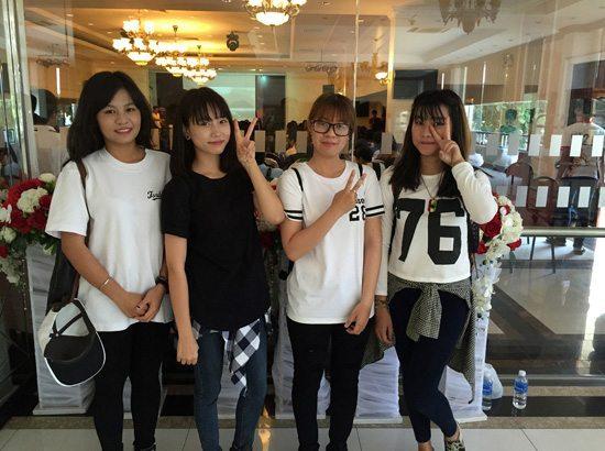 Các cô gái xinh đẹp của thành phố biển Nha Trang