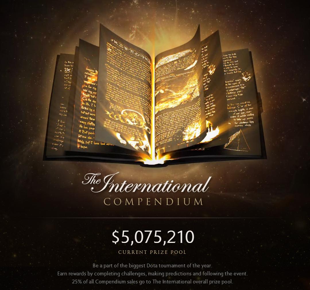 Tổng giá trị giải thưởng của The International 2015 đã vượt qua con số 5 triệu đô la Mỹ.