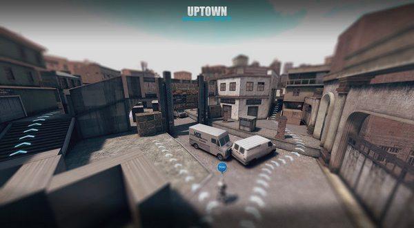 Bản đồ mới Uptown dành cho chế độ Cướp Cờ