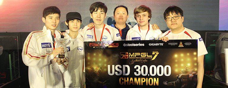 Dota 2: MVP Hot6ix vô địch MPGL Season 7