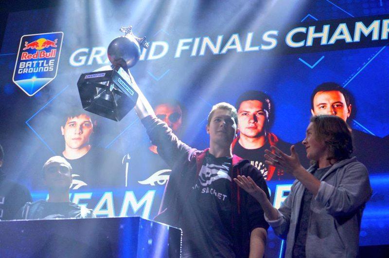 Secret vô địch Red Bull Battle Grounds 2015
