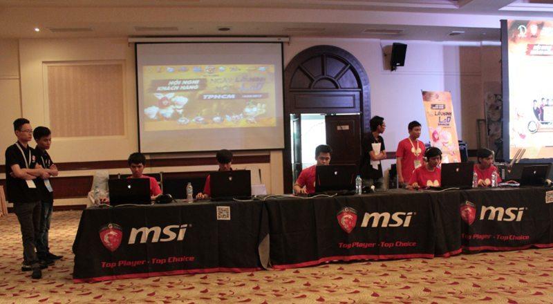 MSI là nhà tài trợ thiết bị cho vòng chung kết Trùm Củ Hành LOD