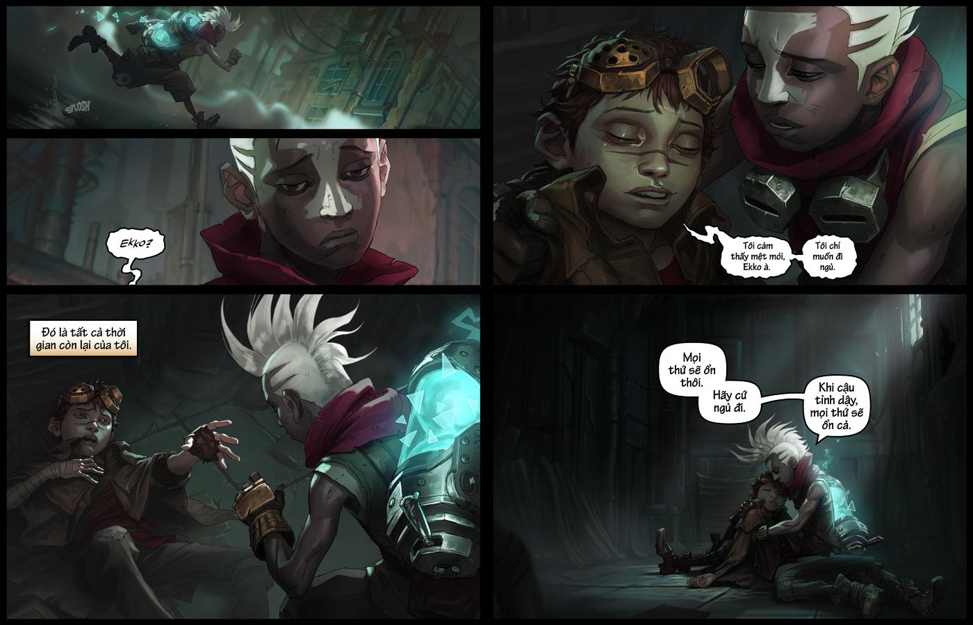 truyện tranh ekko