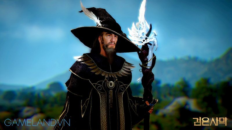 black desert wizard