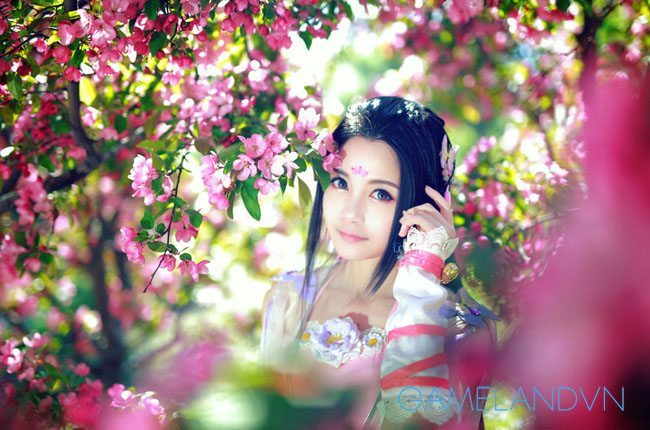 cosplay thien huong
