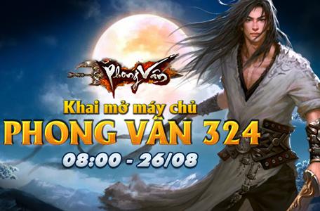 Phong Vân Vô Song trình làng máy chủ thứ 324 5