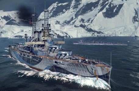 World of Warships chính thức ra mắt từ sáng nay 5