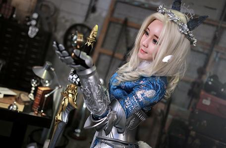 Reve cực quyến rũ với cosplay Mabinogi Heroes 2