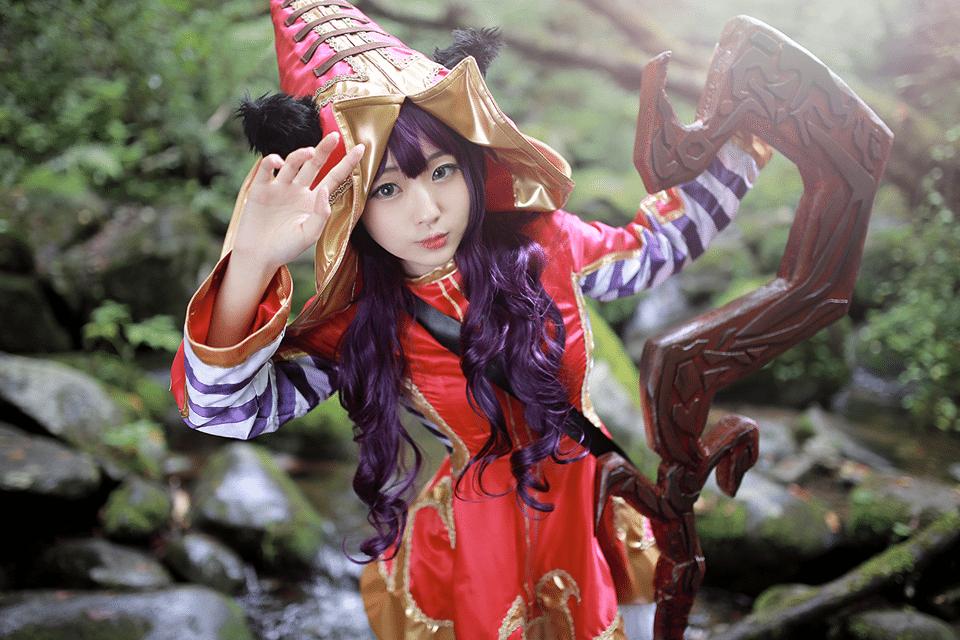 Ngắm cosplay Lulu cực dễ thương từ RZ Cos