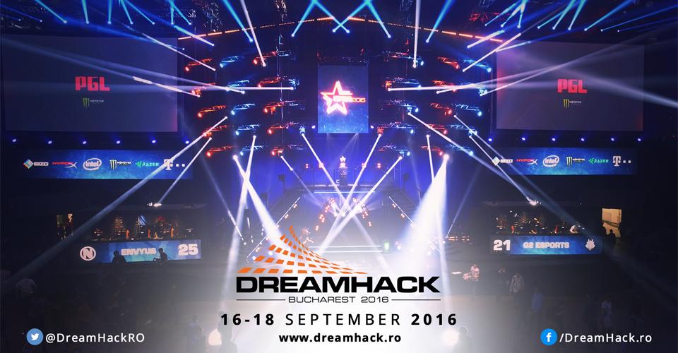 DreamHack Bucharest 2016 diễn ra vào tháng 9/2016