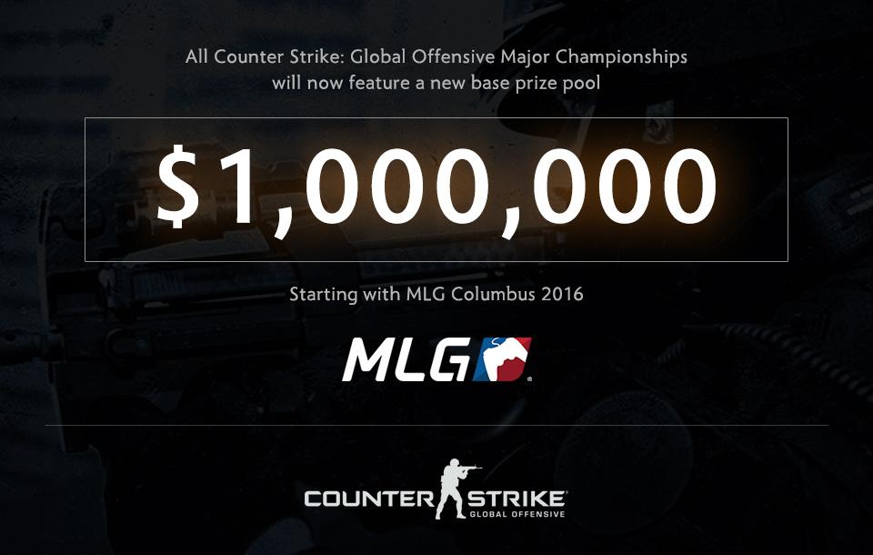 Valve tăng giải thưởng cho CS:GO Major Championship