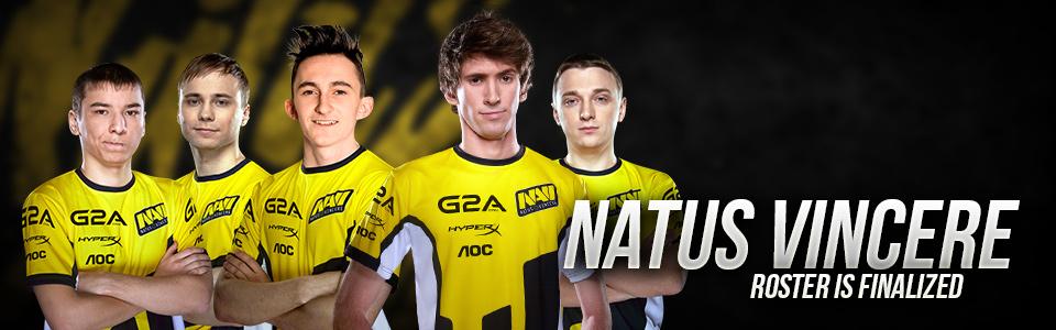 Natus Vincere Dota 2 - Natus Vincere hoàn thiện đội hình đội tuyển Dota 2