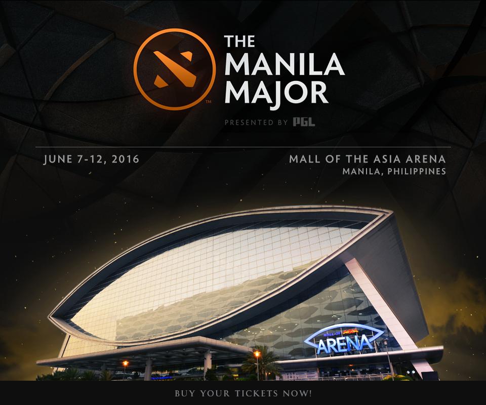 The Manila Major 2016 sẽ được tổ chức tại sân vận động Mall of Asia. Ảnh: Wykrhm Reddy.