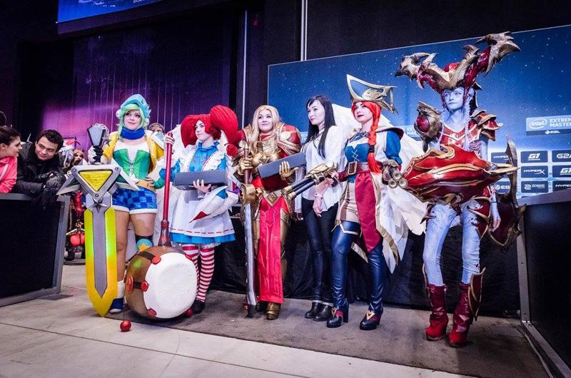 Chiêm ngưỡng cosplay LMHT tại IEM Katowice 2016 - Ảnh 01