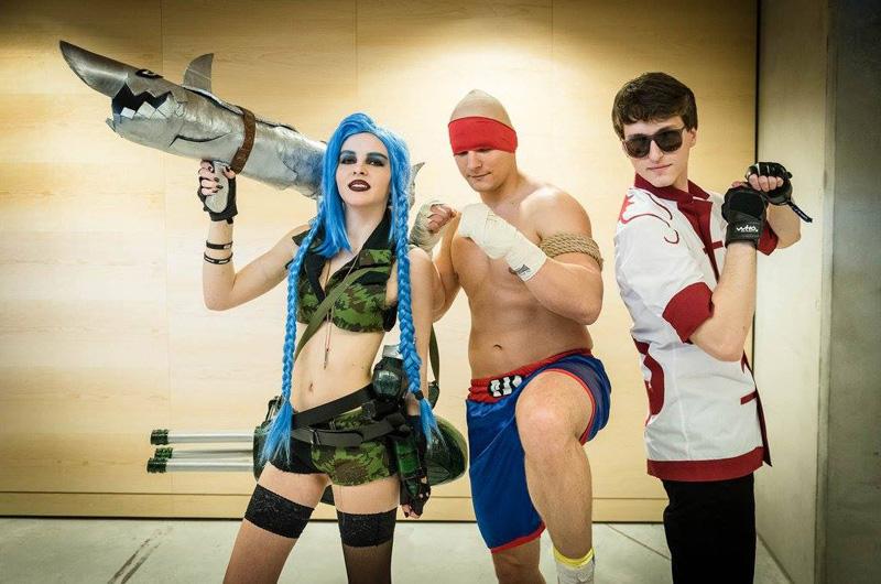 Chiêm ngưỡng cosplay LMHT tại IEM Katowice 2016 - Ảnh 02