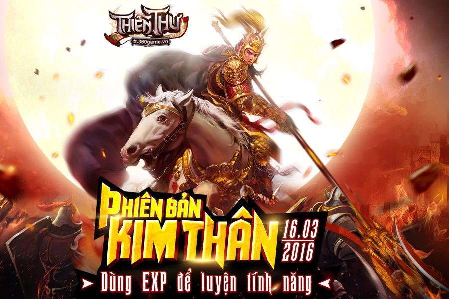 Thiên Thư ra mắt phiên bản mới Kim Thân