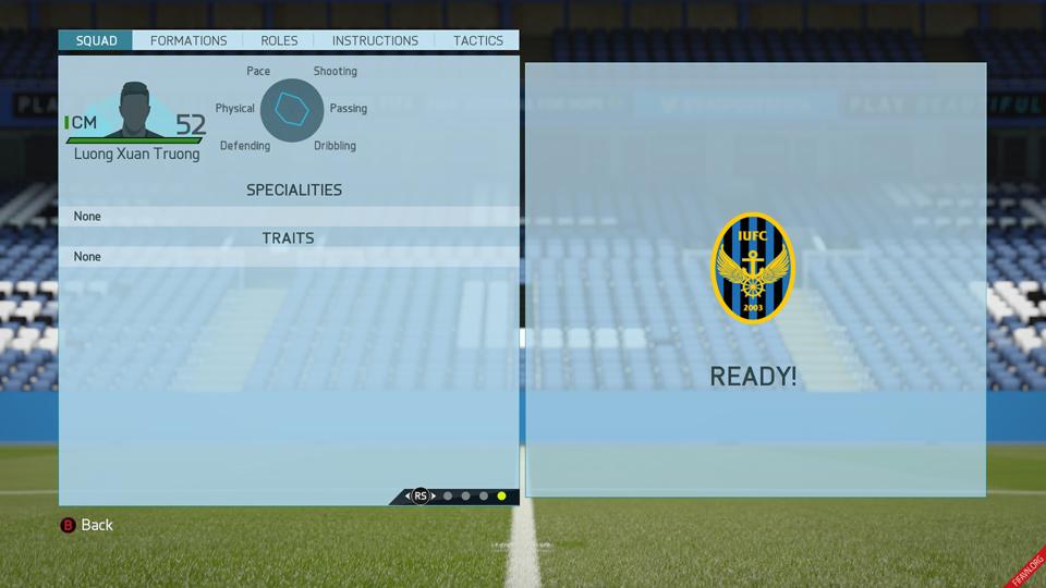 Trường chưa được EA Sports ghi nhận một kĩ năng đặc biệt nào.