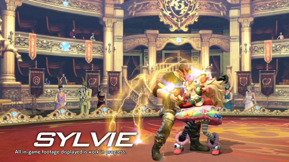 The King of Fighters XIV có nhân vật mới Sylvie Paula Paula - Ảnh02