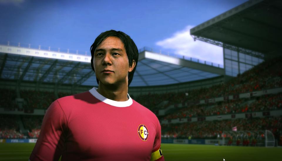 Tạo hình của danh thủ Huỳnh Đức trong FIFA Online 3.