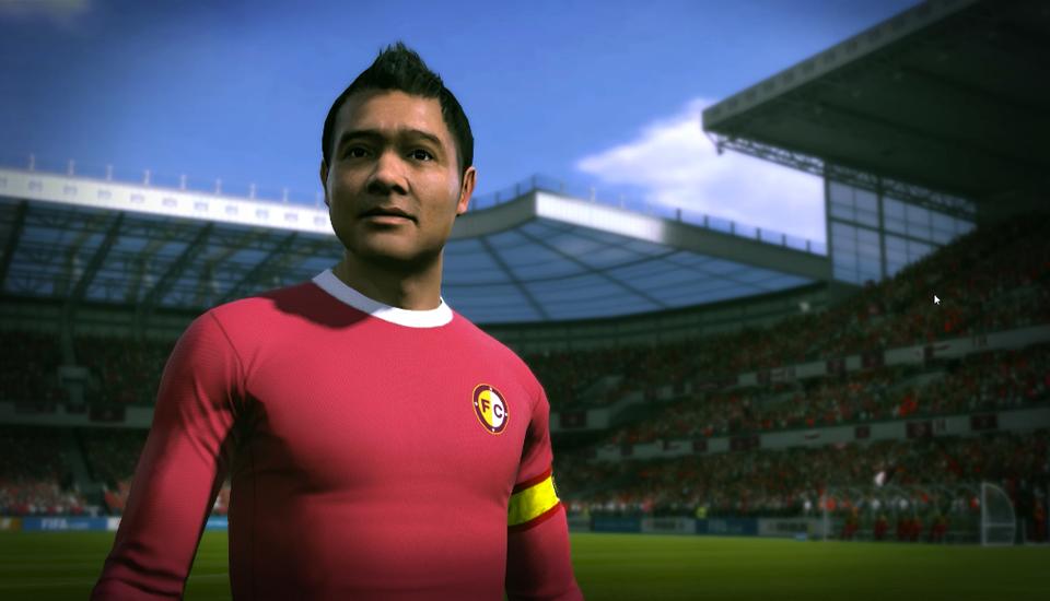 Tạo hình của danh thủ Hồng Sơn trong FIFA Online 3.