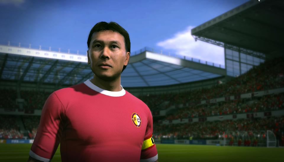 Tạo hình của danh thủ Công Minh trong FIFA Online 3.