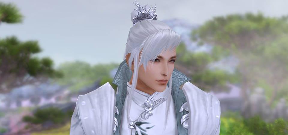 Tóc trắng mới