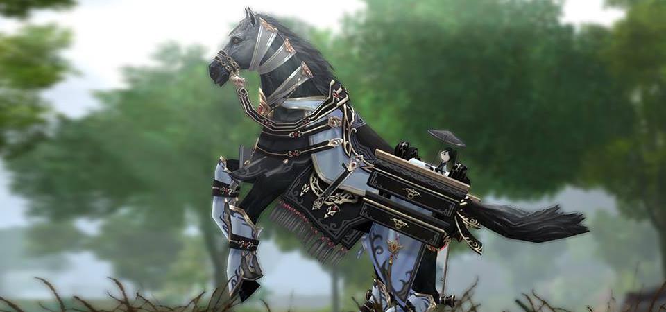 Yên ngựa mới