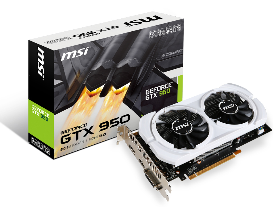 GTX 950 2GD5 OCV3