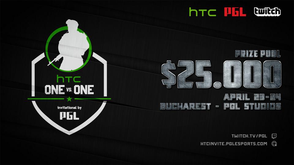 PGL công bố giải đấu mới HTC 1v1 Invitational