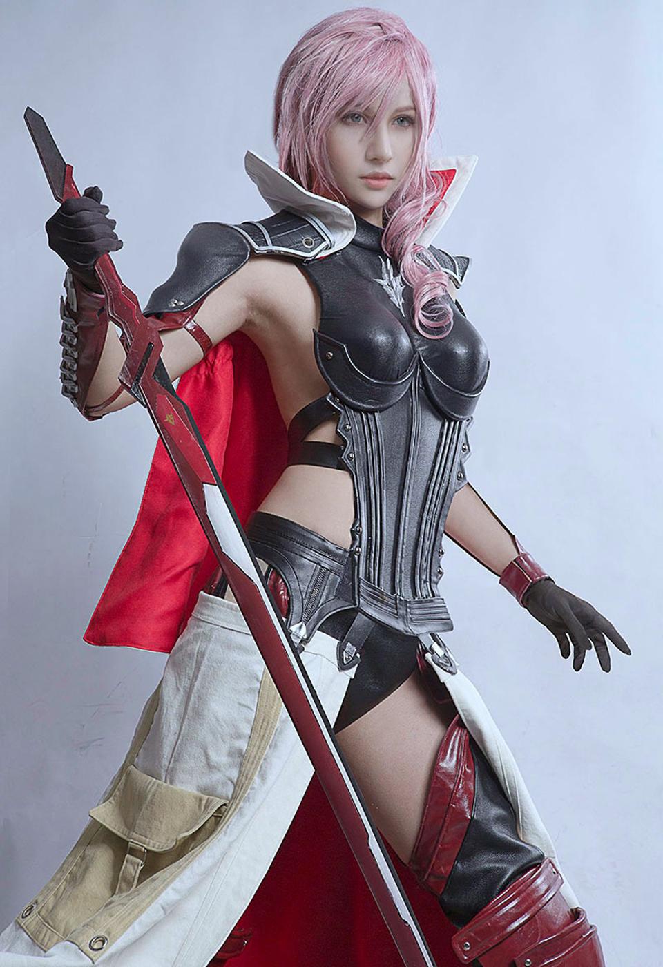 Ngắm cosplay Lightning đẹp như game của Kilory - Ảnh 2