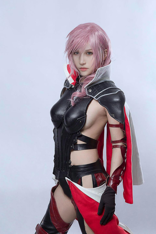 Ngắm cosplay Lightning đẹp như game của Kilory - Ảnh 6