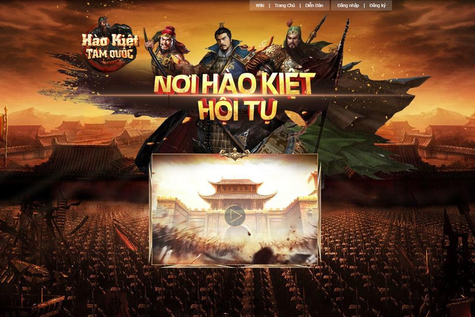Hào Kiệt Tam Quốc mở Closed Beta vào ngày 08/04