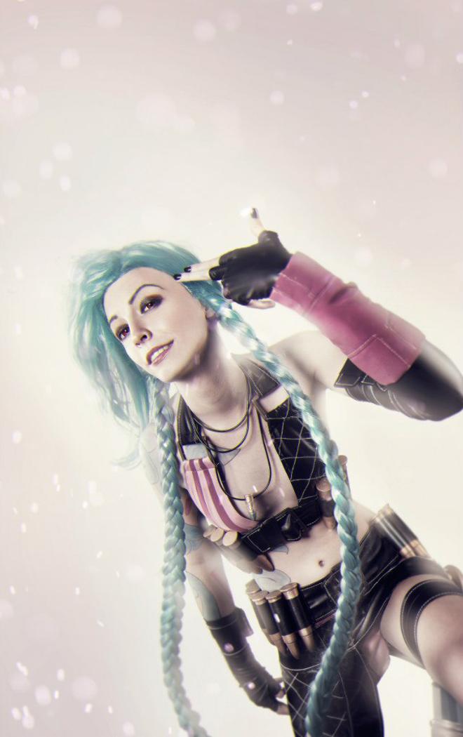 Ngắm cosplay Jinx cực đẹp của Manyasha - Ảnh 06