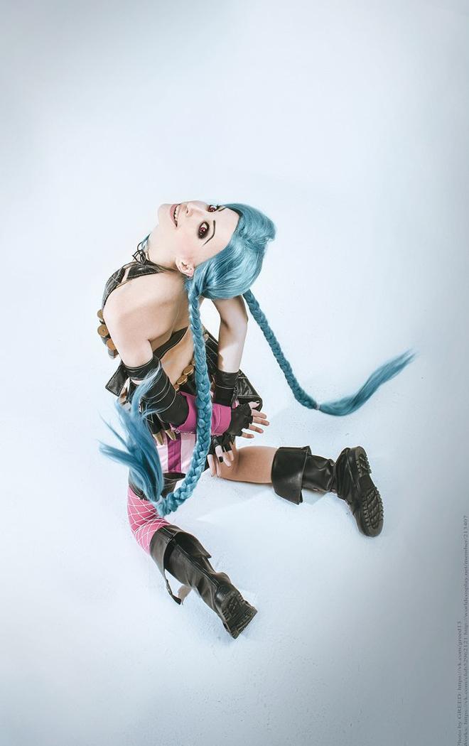 Ngắm cosplay Jinx cực đẹp của Manyasha - Ảnh 12