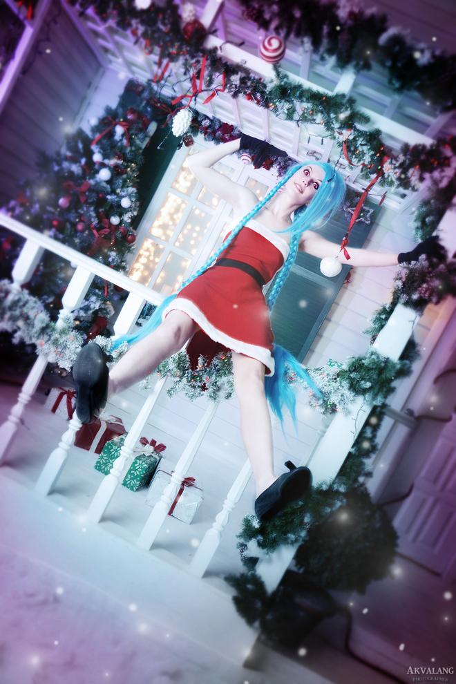 Ngắm cosplay Jinx cực đẹp của Manyasha - Ảnh 25
