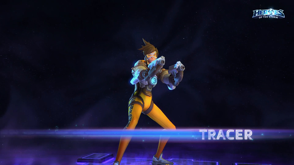 Tracer Heroes of the Storm - Ảnh 01