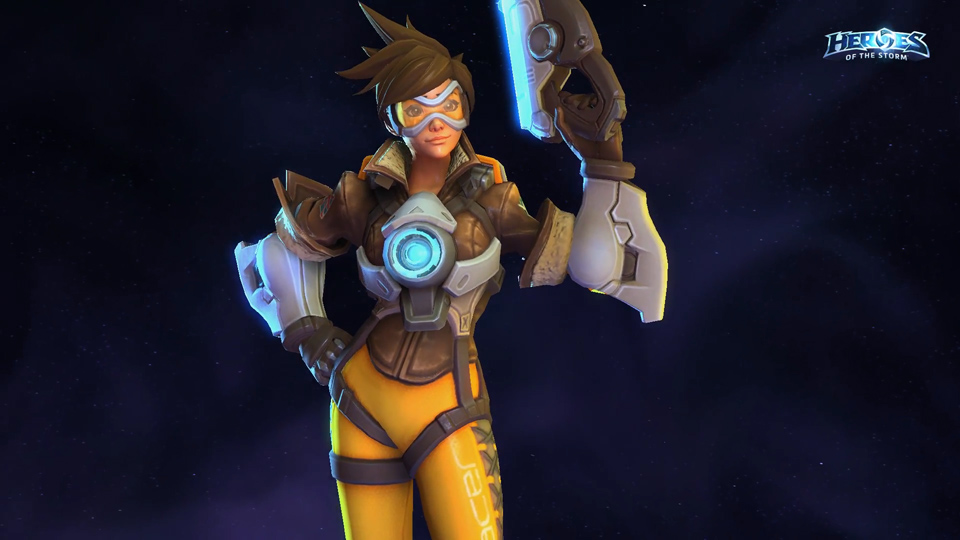 Tracer Heroes of the Storm - Ảnh 02