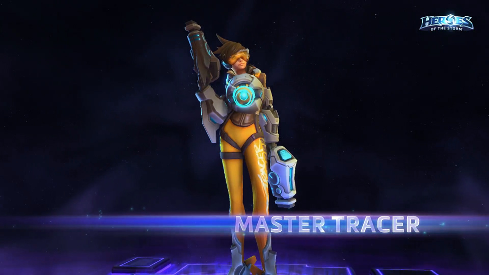Tracer Heroes of the Storm - Ảnh 08