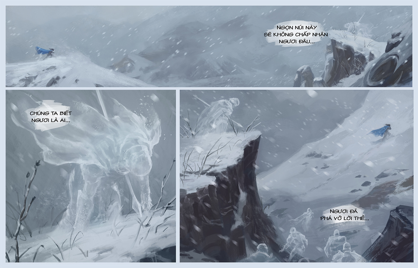 Truyện Taric - Lên đỉnh núi