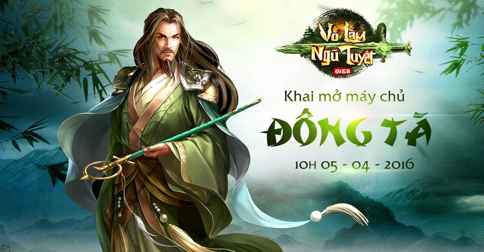 Tặng 500 giftcode Thiên Cơ Tử game Võ Lâm Ngũ Tuyệt