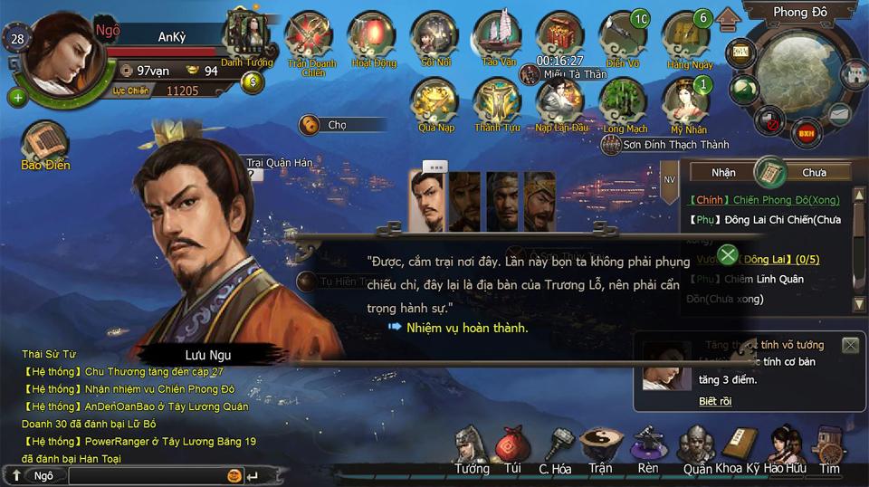 Tặng giftcode Hào Kiệt Tam Quốc phiên bản Closed Beta