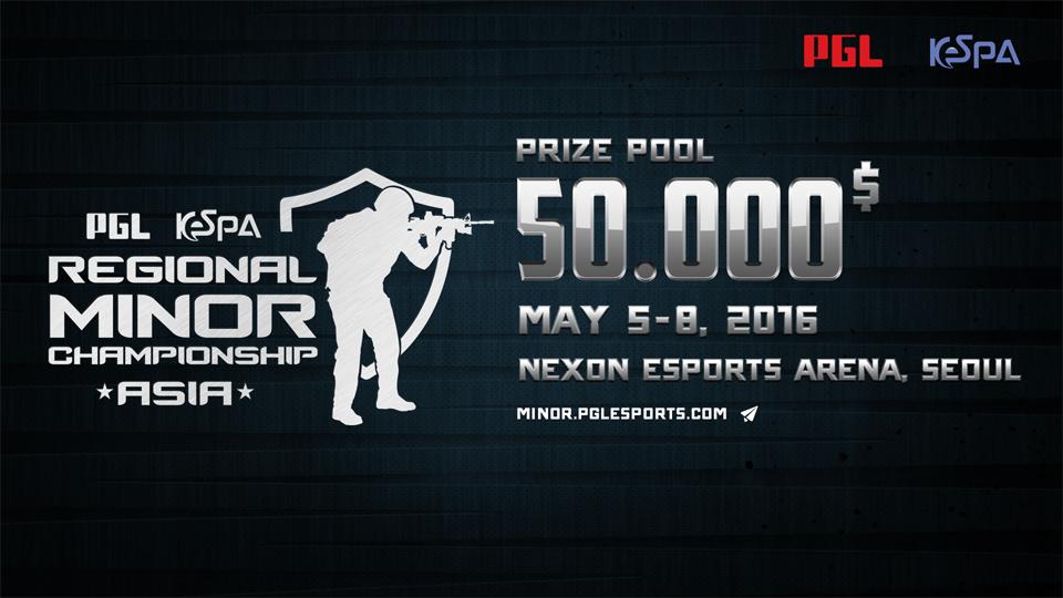 PGL KeSPA Regional Minor Championship: Asia