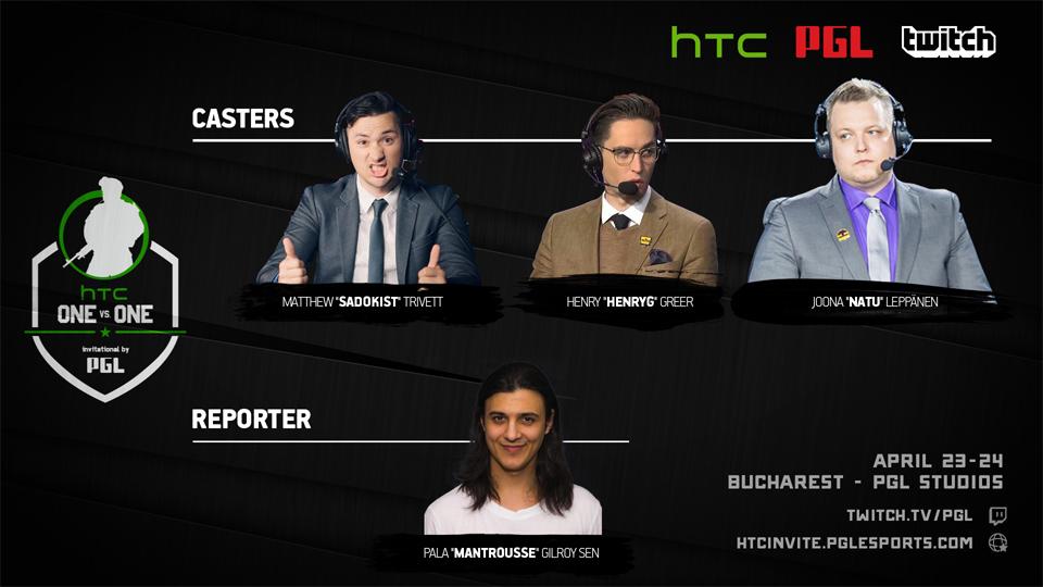 Lộ diện hai tuyển thủ tiếp theo tham dự HTC 1v1 Invitational
