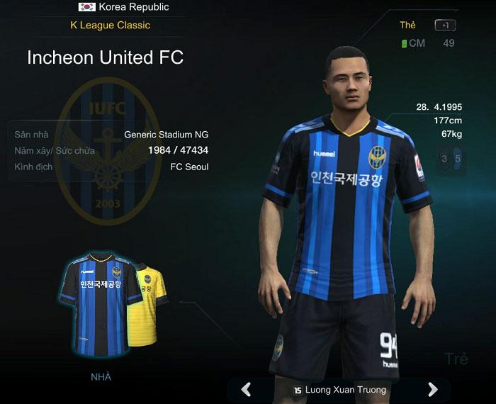 FIFA Online 3 cập nhật tháng 4.2016