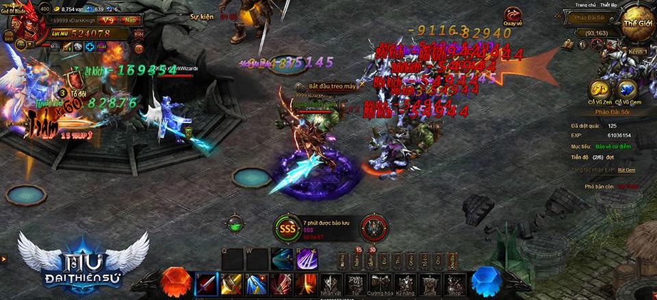 Webgame MU Đại Thiên Sứ ra mắt vào ngày 28/04/2016
