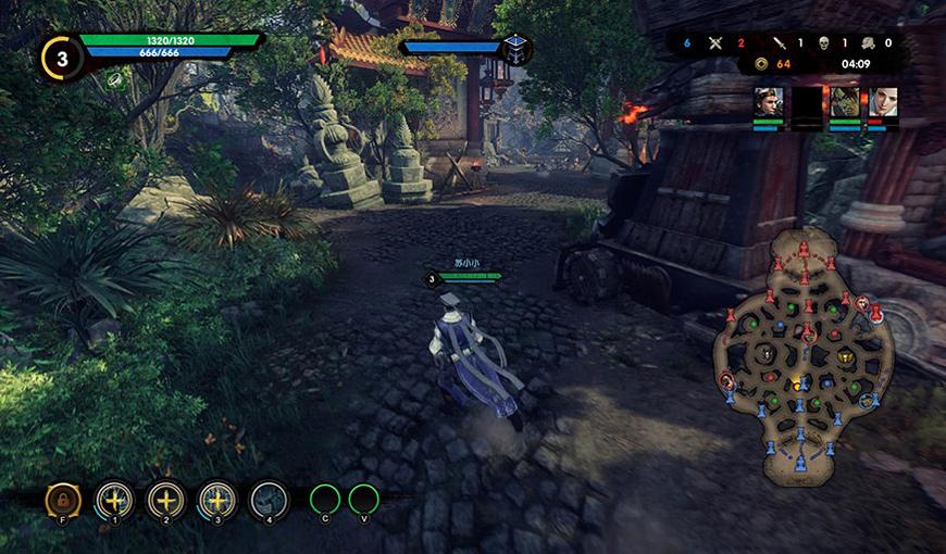 Cửu Dương Thần Công PS4 có phiên bản tiếng Anh