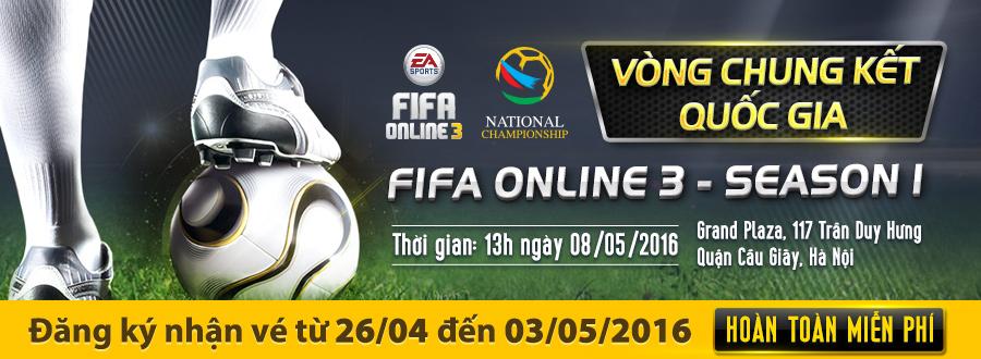 FIFA Online 3: Thể thức thi đấu của National Championship 2016 mùa 1